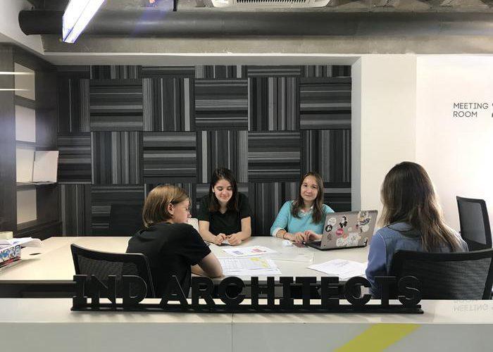 Практика в IND architects, лето 2019