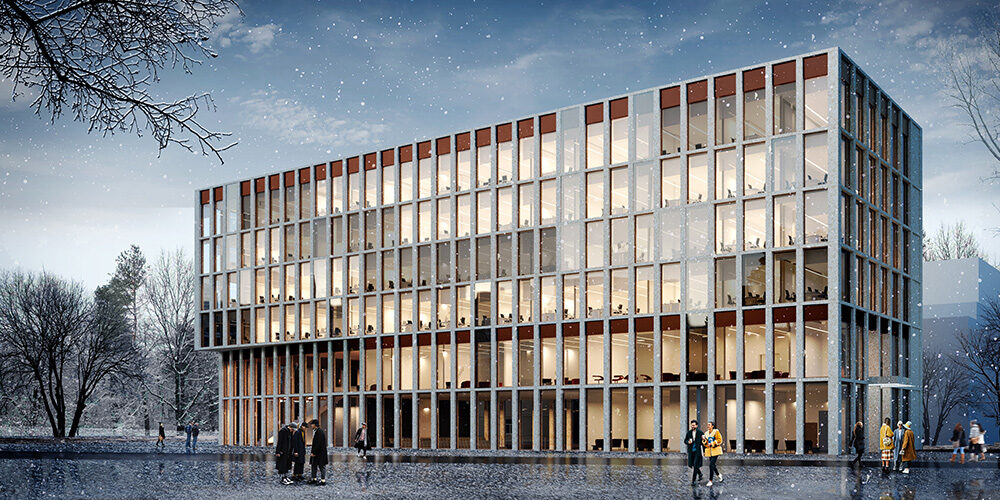 Архитектурная концепция конференц-центра Университета