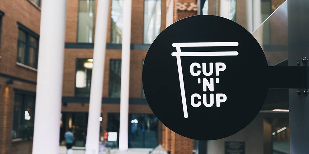 CUP'N'CUP Cafe — брендинг и дизайн