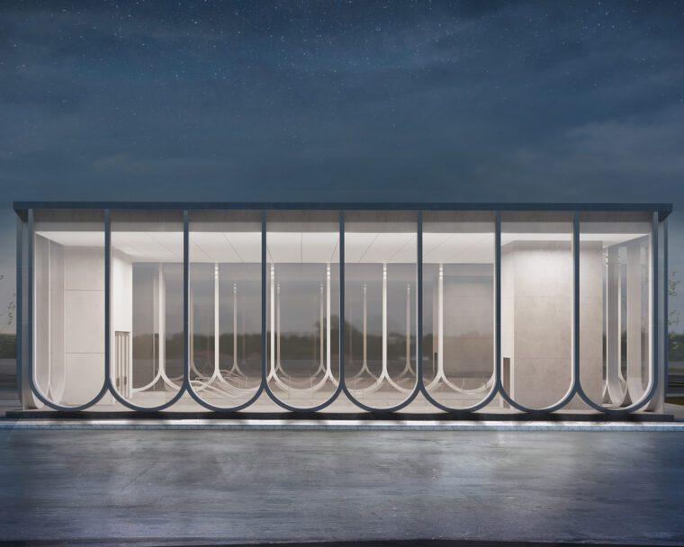 Klenovyi Bulvar Subway Station Concept