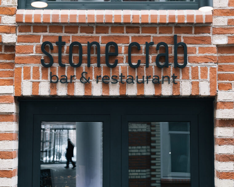 Stone Crab Restaurant Branding