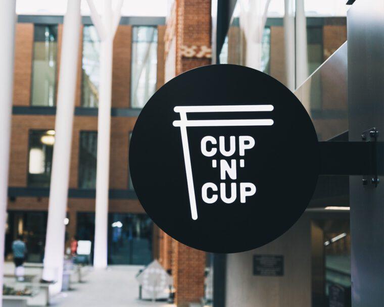 CUP'N'CUP Cafe Branding & Design