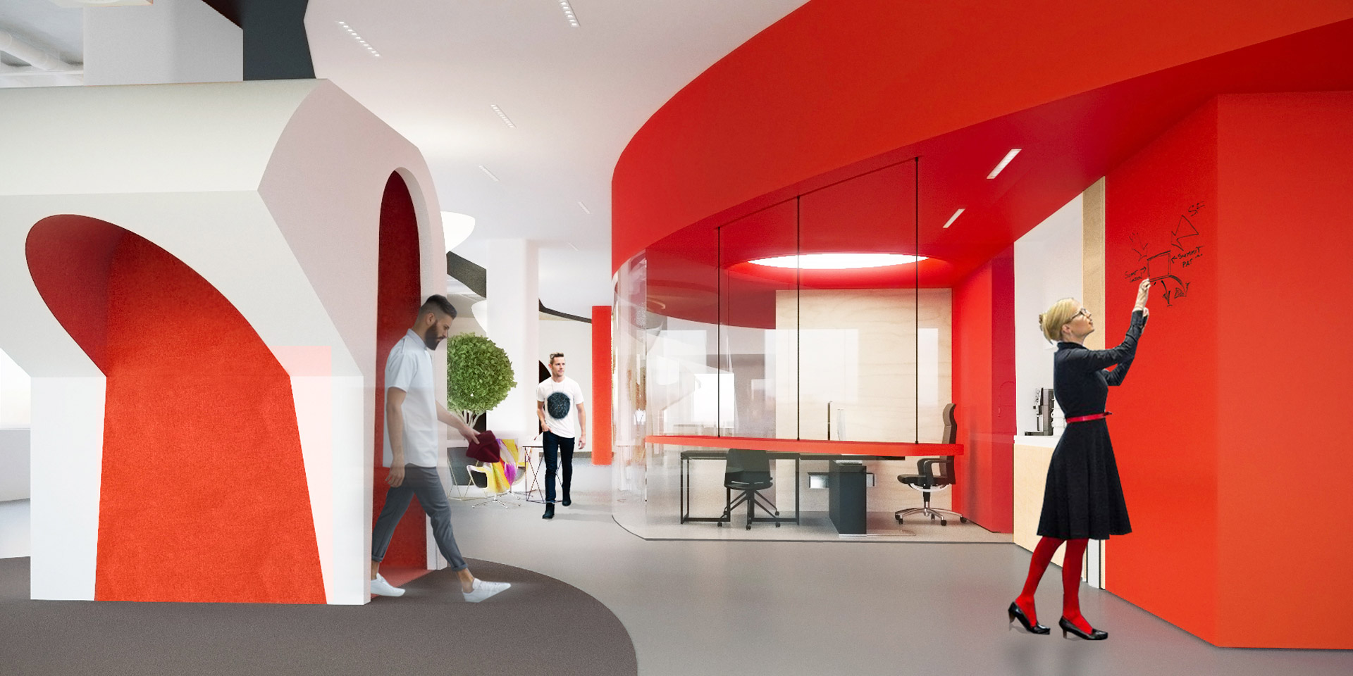 Concept of Yandex Office