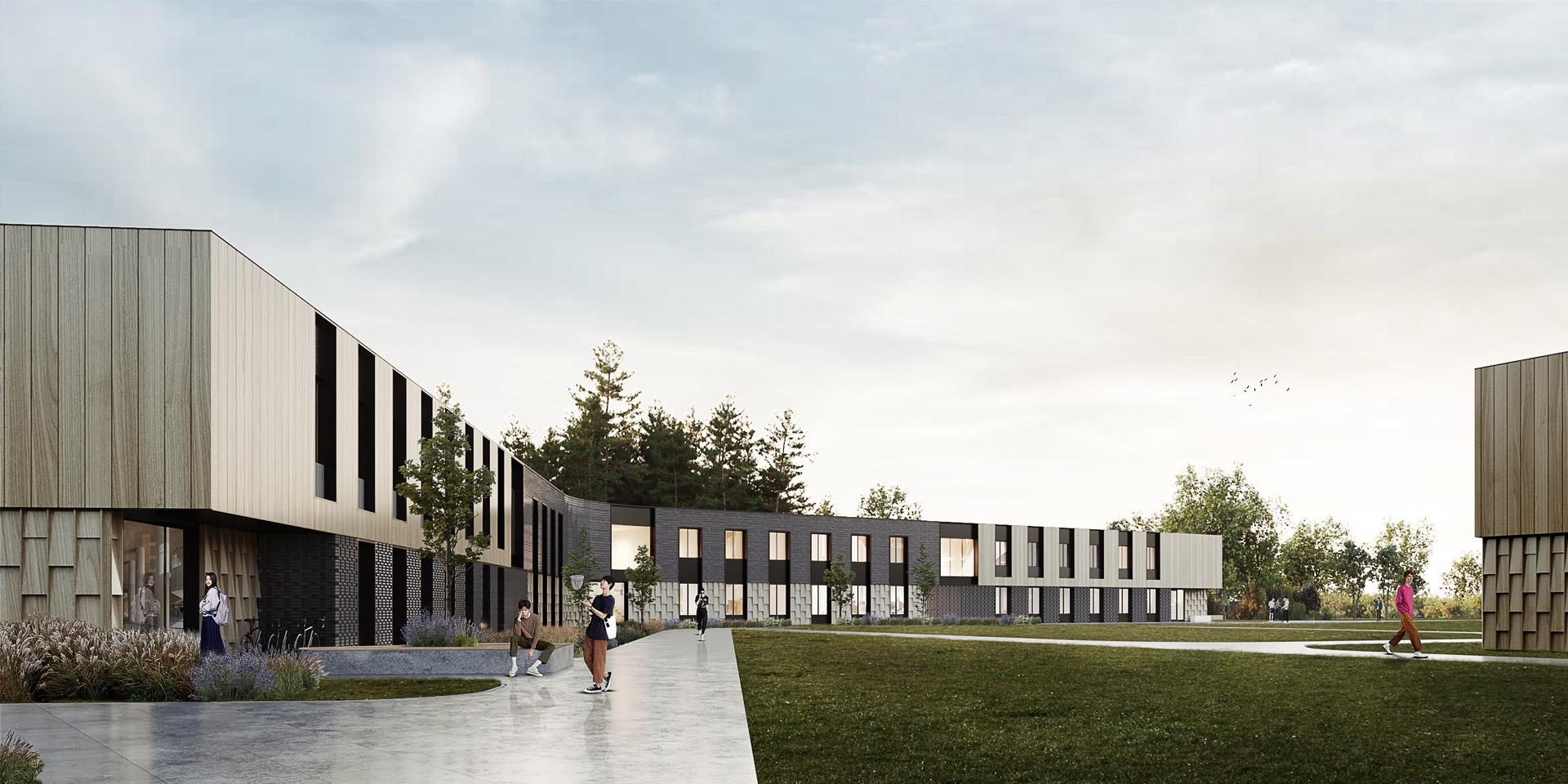 Школа в Бурабай