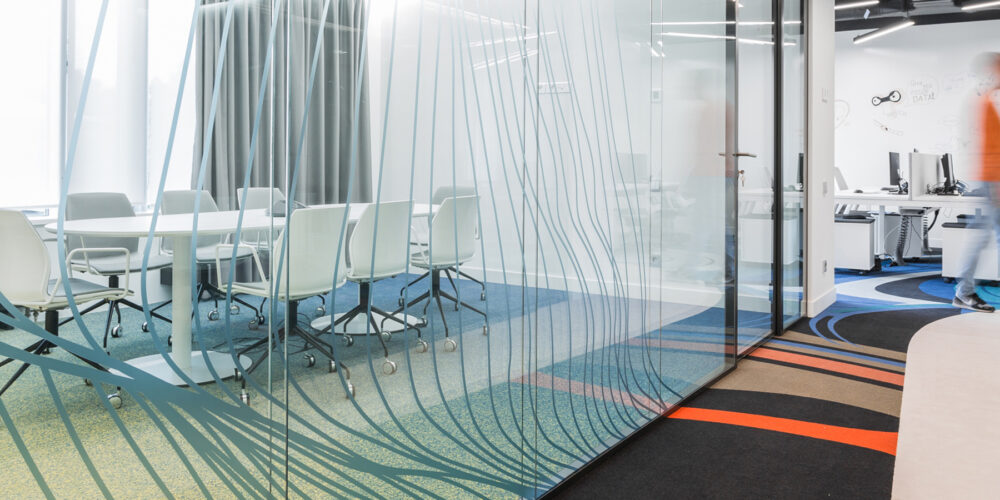 Офис IT подразделения нефтегазового холдинга Сибур