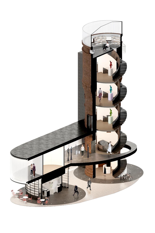 Концепция редевелопмента водонапорной башни