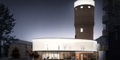 Water Tower Redevelopment Concept