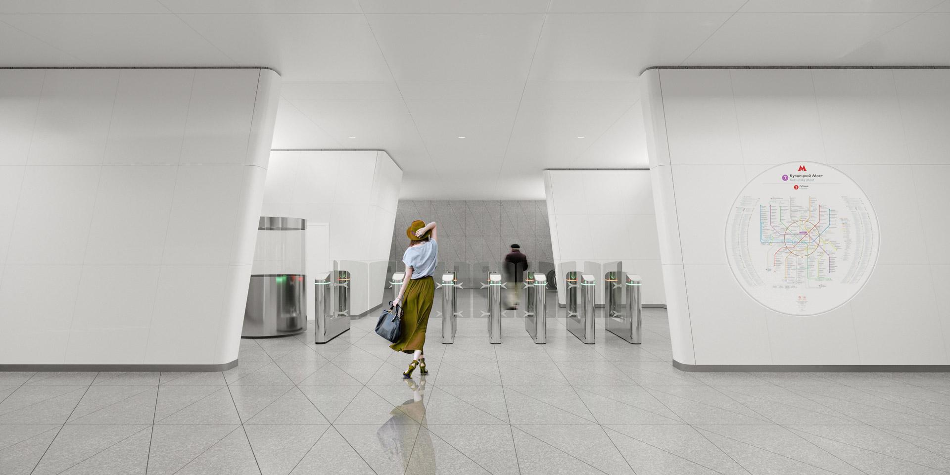 Концепция станции метро «Кленовый бульвар»