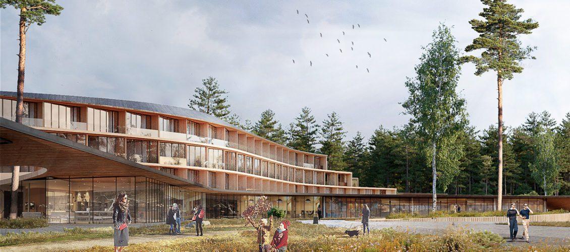 Concept of Eco Hotel in Konakovo