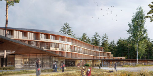 Concept of Eco Hotel in Konakovo