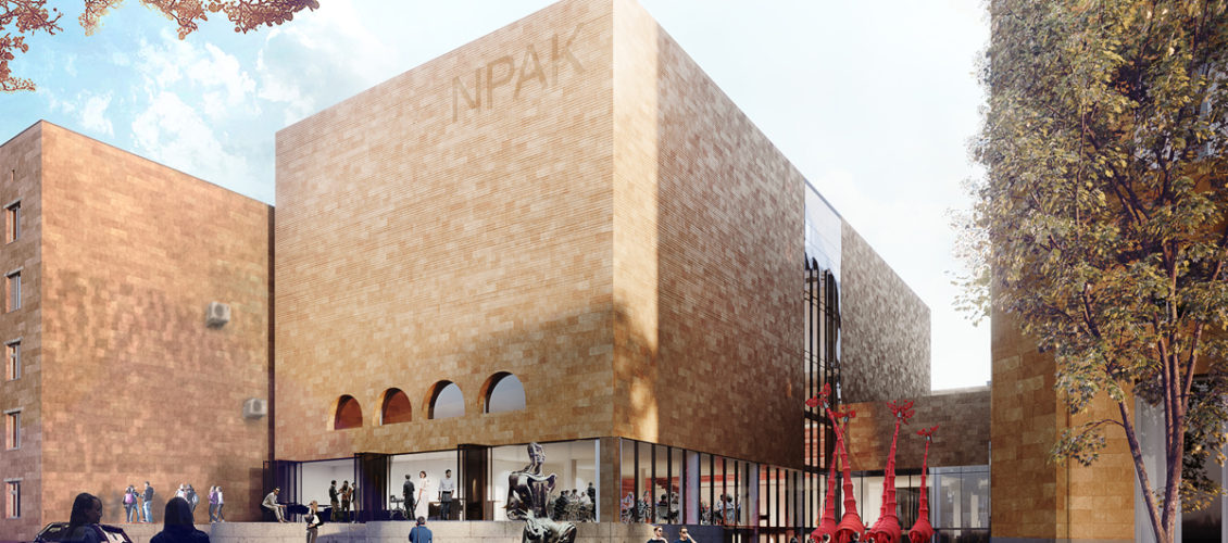 Reconstruction of the Center of Contemporary Art NPAK in Yerevan