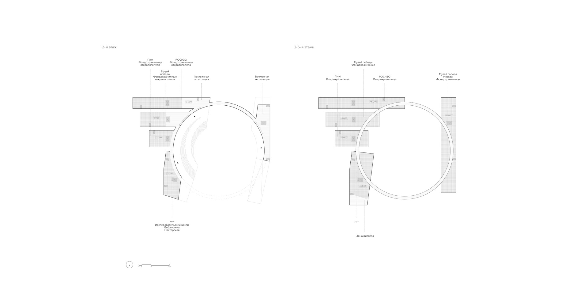 Depository and Exhibition Complex Concept