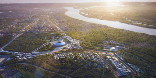 Masterplan Samara-Arena