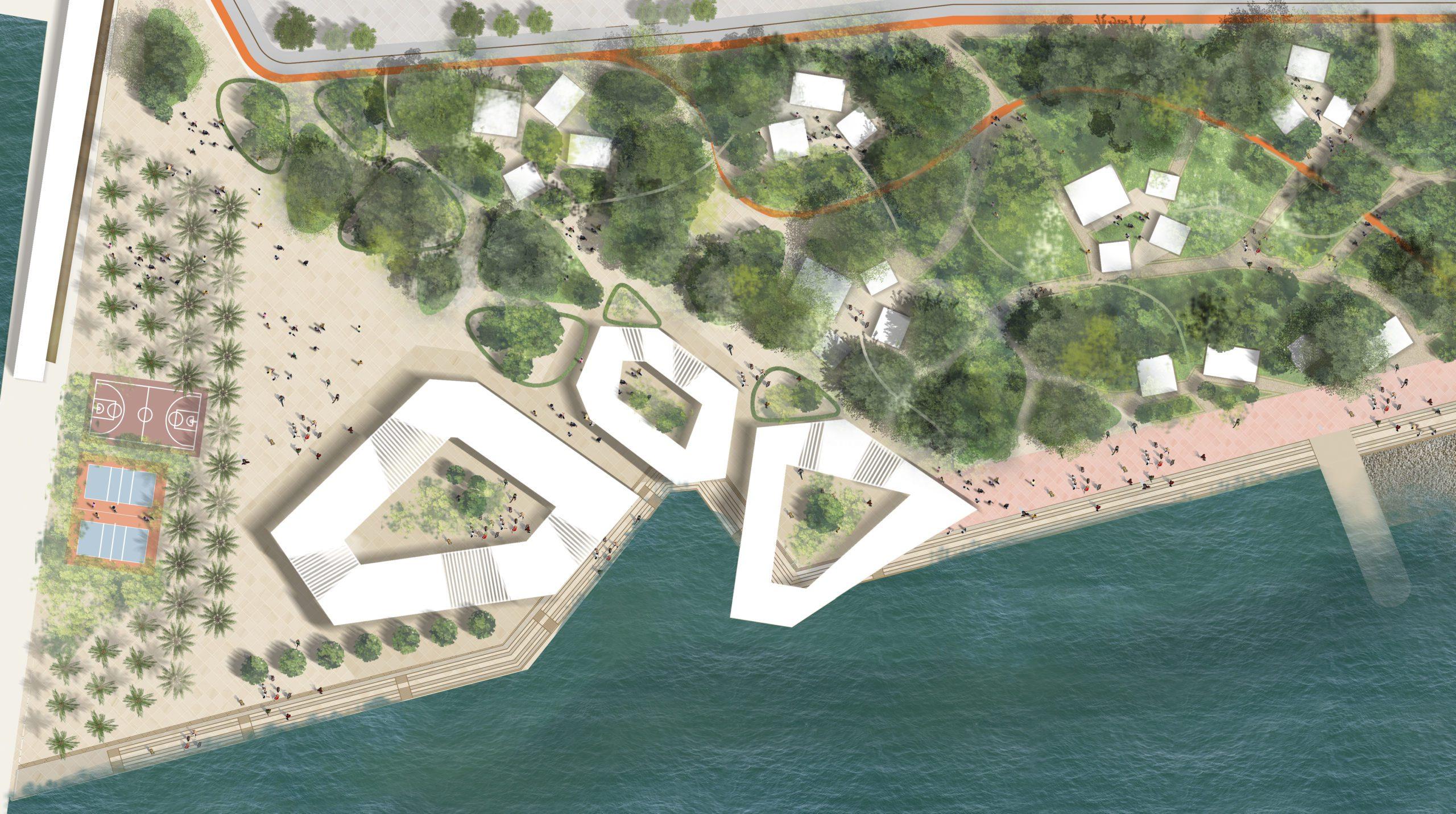 Мастер-план центральной набережной Сочи